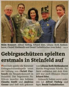 Neujahrskonzert 6.1.2012, Steinfeld