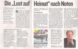 Kleine Zeitung 28. Dezember 2012 – Oberkärnten