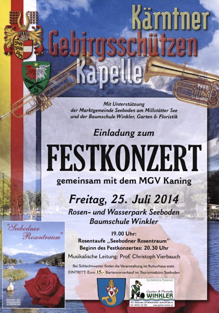 Festkonzert 2014